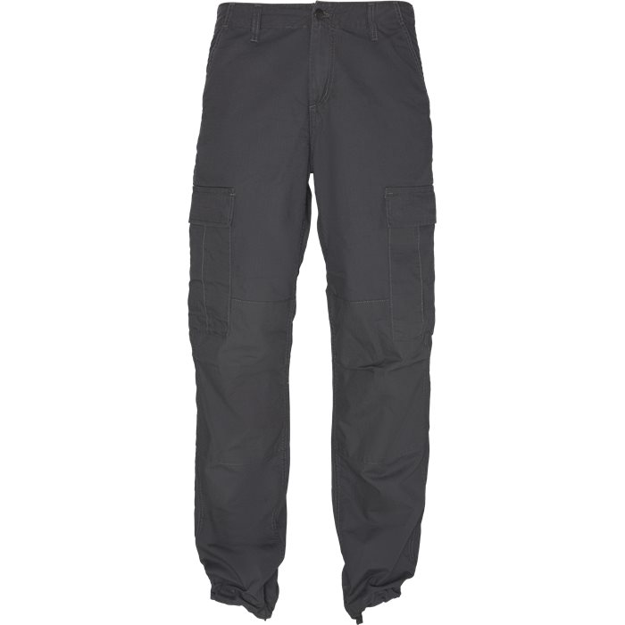 Cargo Pants - Bukser - Regular - Grå
